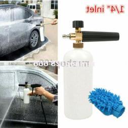 "1/4"" Snow Foam Lance Cannon Washer Gun Soap Pressure Car Foa"