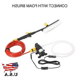 12V 70W High Pressure Car Washer Cleaner Water Wash Pump Spr