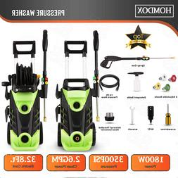 Homdox 3500PSI 2.60GPM 1800W Electric High Pressure Washer A