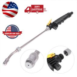 2-IN-1 High Pressure Power Car Water Washer Wand Nozzle Spra