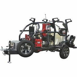 NorthStar 200Gal. Hot Water Commercial Pressure Washer Trail