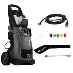 2030 Max PSI 1.76 GPM 14.5 Amp Electric Pressure Washer, Bla