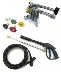 2400 psi AR PRESSURE WASHER PUMP & SPRAY KIT - AR RMW2.2G24-