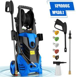 3000PSI 1.8GPM Electric Pressure Washer High Power Cold Wate
