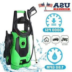 3000psi 1 8gpm electric pressure washer high