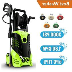 3000PSI 1.8GPM Electric Pressure Washer High Power Water Cle