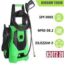 3000PSI 1.8GPM Electric Pressure Washer Power Water Cleaner