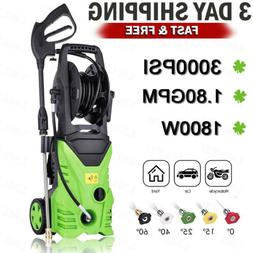 3000PSI 1.8GPM Electric Pressure Washer Water Cleaner Power