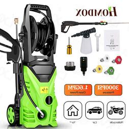3000PSI 2.0GPM Electric Pressure Washer Cold Water Cleaner M