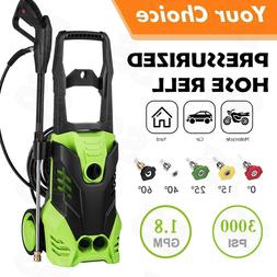 Homdox 3000PSI High Power Water Electric Pressure Washer 1.8