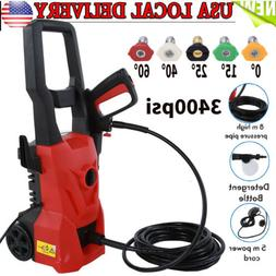 3400 PSI Electric Pressure Washer 2200W High Power Auto Wash