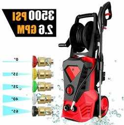 3500psi 2 6gpm electric pressure washer high