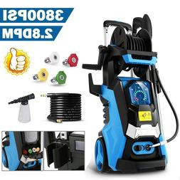 MAX 3800PSI 2.8GPM Electric Pressure Washer Water Cleaner Hi