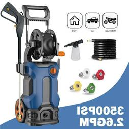 3500PSI 2.6GPM High Power Electric Pressure Washer Cold Wate