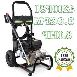 3600 PSI 2.8GPM Gas Powered Cold Water High Pressure Washer