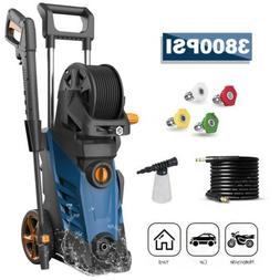 3800PSI 2.8GPM Electric Pressure Washer High Power Auto Jet