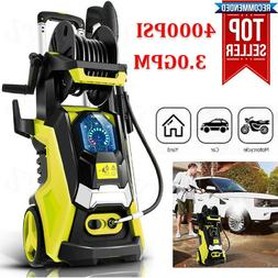 3800PSI 3.0GPM Electric Pressure Washer High Power Cleaner,W
