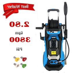 3800PSI 2.8GPM Electric Pressure Washer Powerful Cleaner Wat