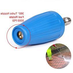 PENSON & CO. 4.0 GPM Turbo Rotary Rotating Nozzle for Pressu