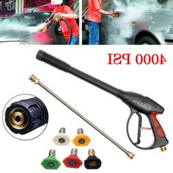 4000PSI High Pressure Car Power Washer Set Spray Gun Wand No
