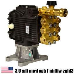 "Pressure Washer Pump 4000PSI 4GPM 1"" Horizontal Shaft Fits R"