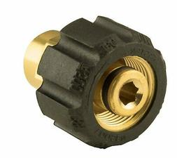 "Erie Tools Brass Twist Coupler Adapter 1/4"" FNPT x 22mm for"