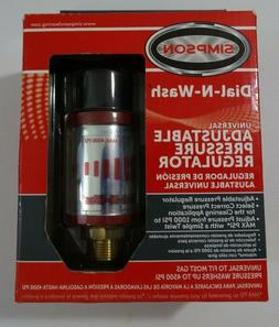 Simpson Dial-N-Wash Universal Adjustable Pressure Washer Reg