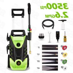 Homdox 3500PSI 2.60GPM Electric Powered Pressure Washer Moto