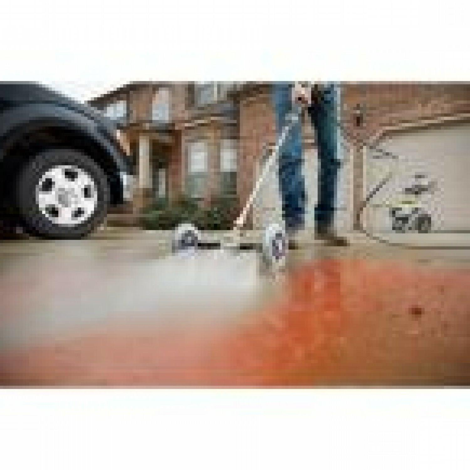 11 in. Pressure Washer Water Broom Cleaning Undercarriage Deck Sprayer