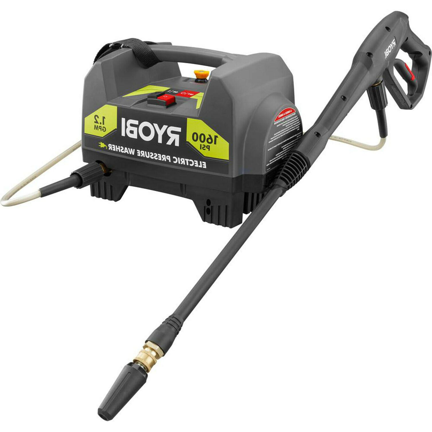 1600 PSI ELECTRIC PRESSURE WASHER Power Washer with Nozzle