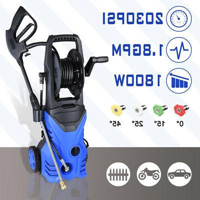 2030PSI 1.8GPM Electric Pressure Washer Water Cleaner Power