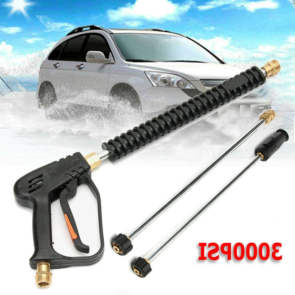 3000 PSI High Car Spray Gun Wand Tips Hose