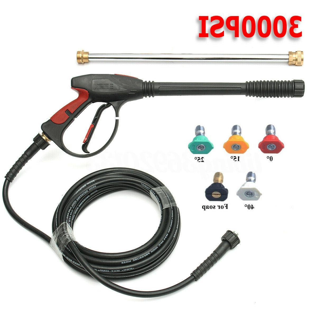 3000 4000psi high pressure car washer power