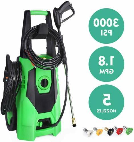 3000PSI Pressure Washer Cleaner Kit