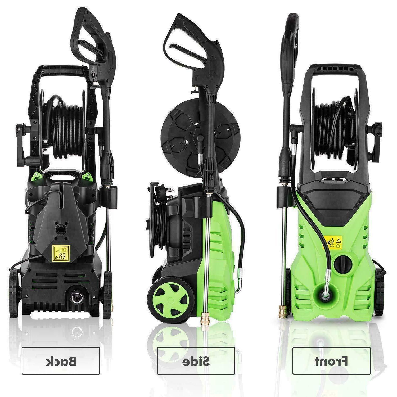 3000PSI Electric Washer Machine Sprayer-Green