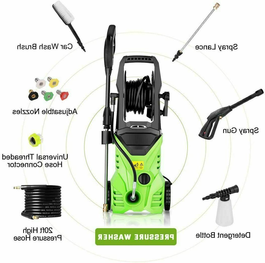 3000PSI 2.0GPM Electric Washer Machine Green