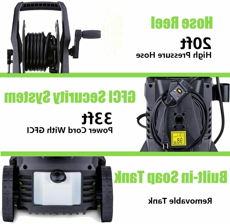 3000PSI Electric Pressure Washer Cleaner Machine
