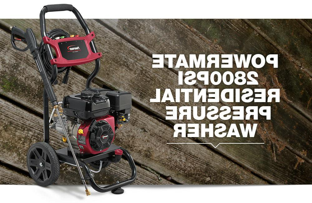 Powermate PSI GPM Residential Pressure Washer -