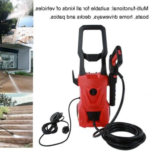 3400PSI 2200W Electric Pressure Washer Power 2 Pipe