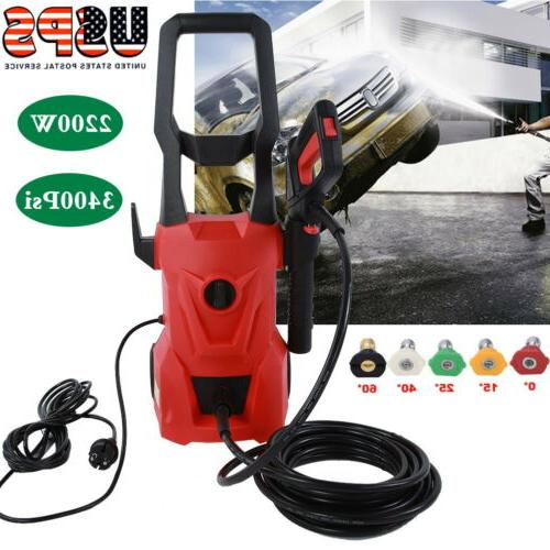 3400psi 2200w high power water electric pressure