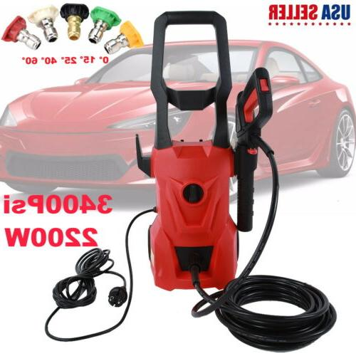 3400psi electric pressure washer 2200w high power
