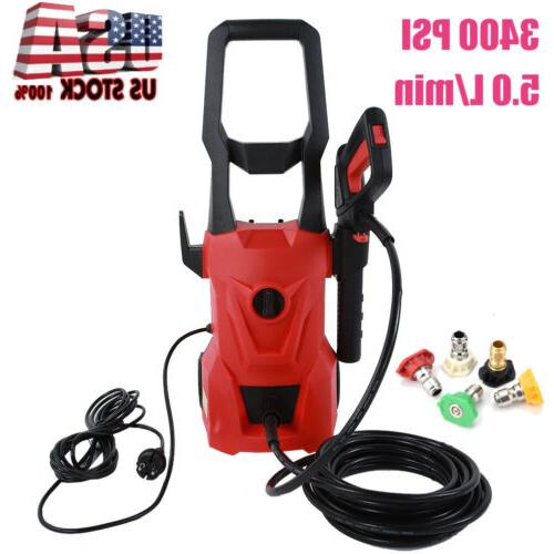 3400psi multpurpose electric pressure washer 2200w high
