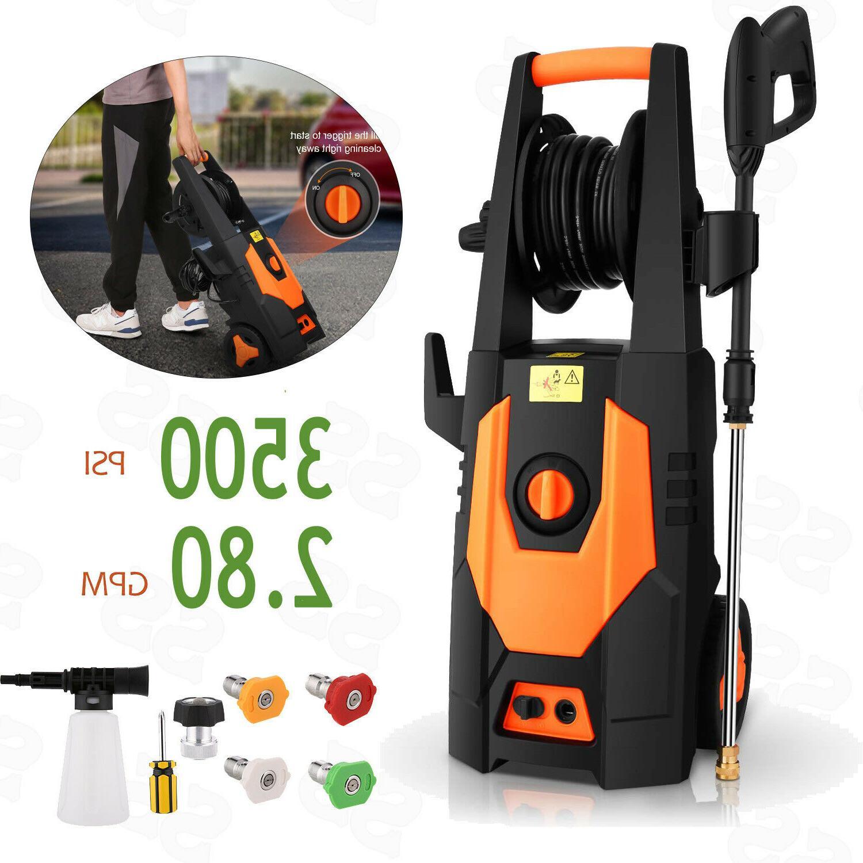 Homdox 3500PSI Electric Pressure Washer Cleaning Machine 2.8