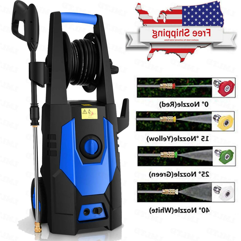 3500 2.8GPM Electric Pressure Washer Auto Jet Wash Cleaner Homdox