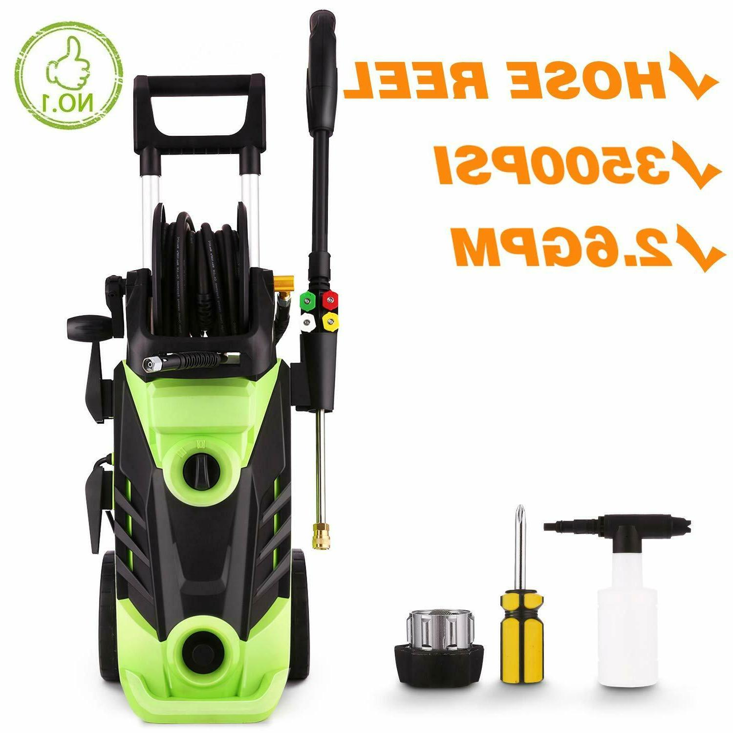 3600 psi electric pressure washer 1800w power