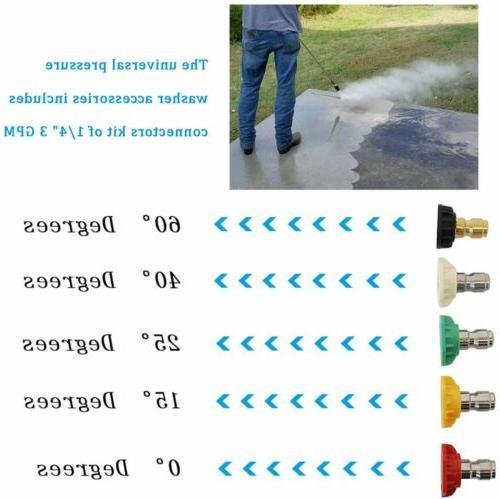 5PCS Spray Power Kit Set