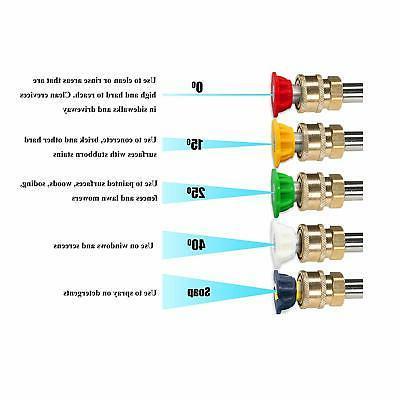PEGGAS Pressure/Power Spray Kit Pack Quick