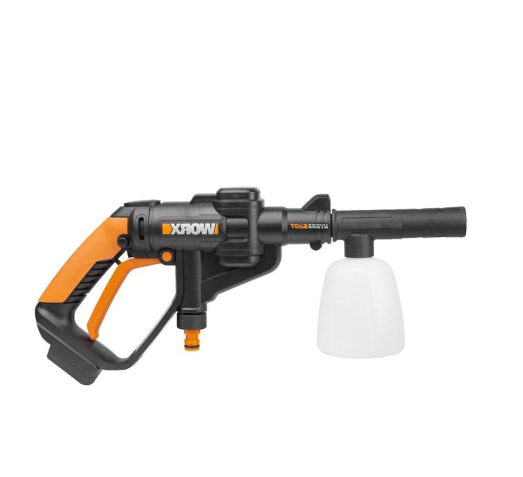 Black WORX WA4036 Hydro Shot Soap Bottle Accessory