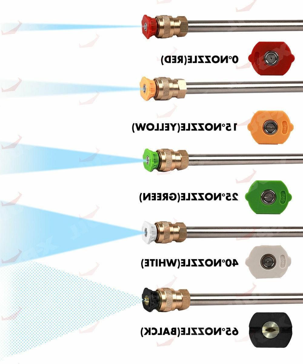 Pressure 4800PSI Gas Gun 4-Stroke 5