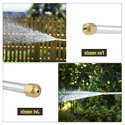 Accessories Jet Power Washer High Pressure Flexible Garden 2